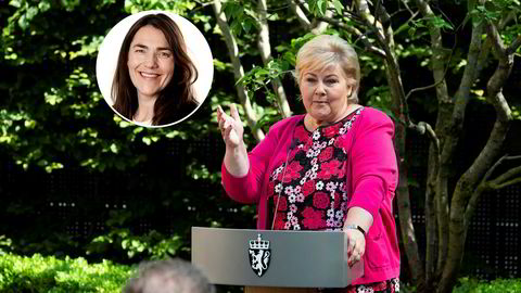Tidligere kommunikasjonssjef og ekspedisjonssjef i Kunnskapsdepartementet, Anne Kristin Hjukse (innfelt) får trolig beholde stillingen som kommunikasjonssjef på SMK permanent.