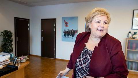 Høyre hadde mistet ti mandater på Stortinget, dersom en fersk måling var et valgresultat. Partiet fortsetter fallet etter at Frp forlot regjeringen.