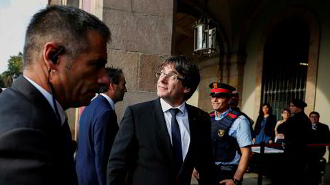 Catalonias tidligere president Carles Puigdemont.