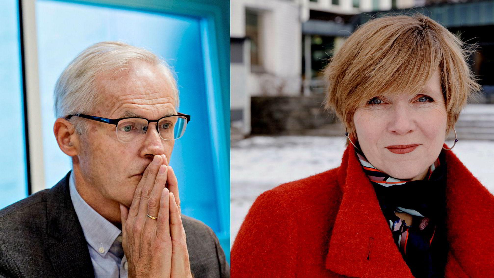 Lars Sørgård og Christine Meyer