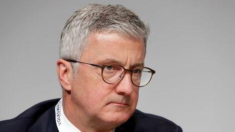 Audi-direktør Rupert Stadler.