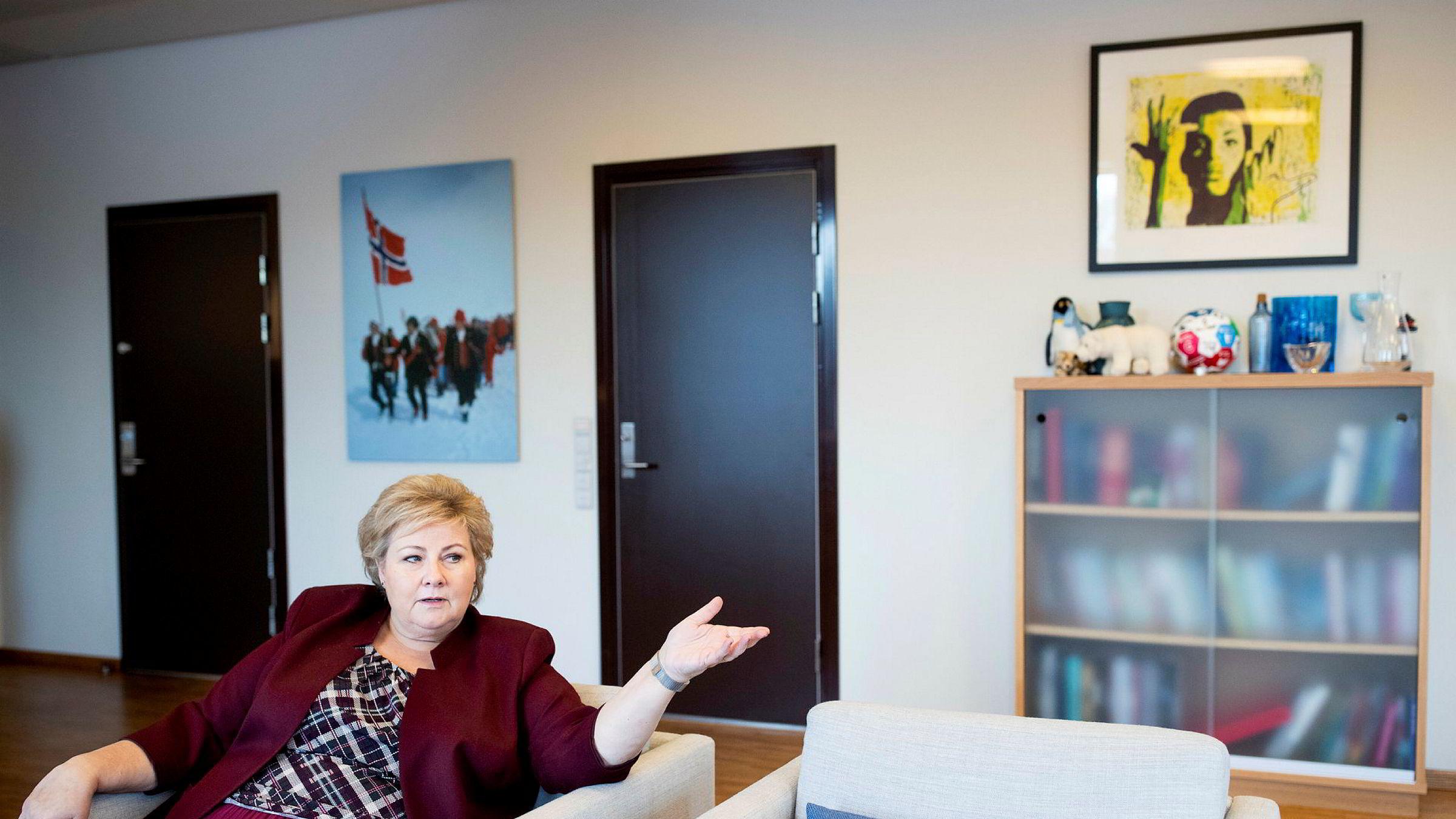Statsminister Erna Solberg skal bruke helgen på et toppmøte i Etiopia for å sikre afrikanske stemmer til Norges plass i FNs sikkerhetsråd.