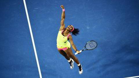Lik lønn for ulikt arbeid? Serena Williams, verdens beste kvinnelige tennisspiller, fnyser av kravene om at hun skal tjene mindre enn mennene fordi hun spiller kortere kamper.