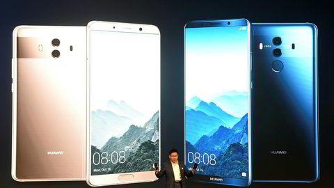 Huawei er blant kinesiske selskaper som investerer stort i kunstig intelligens (AI). De nye smarttelefonene har egenutviklede prosessorer som utnytter kunstig intelligens, og konkurrerer med flaggskip fra Apple og Samsung.