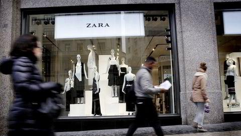 Den spanske motekjeden Zara har økt nettsalget kraftig under koronakrisen.