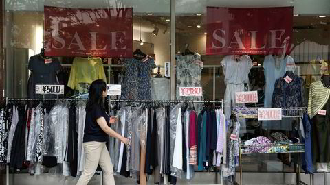 Japanske forbrukere er tilbake ved kjøpesentrene - og de shopper. Arbeidsledigheten i Asias nest største økonomi er på 2,8 prosent, det er vekst i privat forbruk og private investeringer.