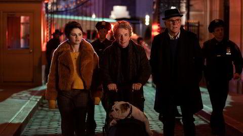 Denne trioen seiler opp som sterke kandidater til å bli dine nye favoritteksentrikere på tv-skjermen: Selena Gomez (fra venstre) som Mabel, Martin Short som Oliver og Steve Martin som Charles. De havner i sentrum av en mordgåte med mange løse tråder.