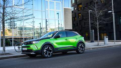 Noe såpass fresht har vi ikke sett fra Opel på en stund. Den nye elbilen heter Mokka-e.
