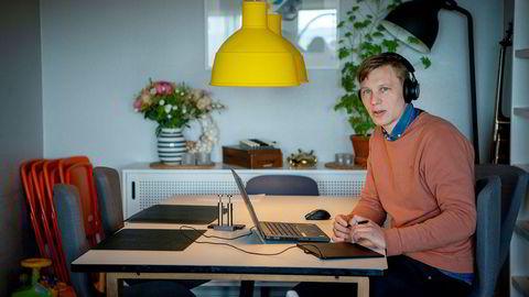 Lærer Johannes Tveit har selv lært mye av å tilrettelegge for hjemmeundervisning. Han ser at mange elever har hatt god utbytte av digital læring.