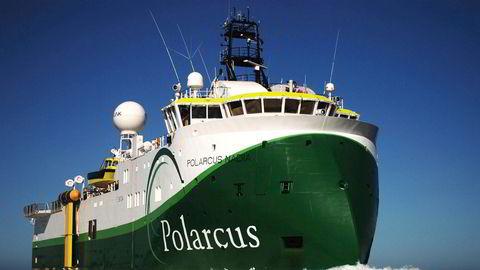 Her er et av Polarcus sine skip, Polarcus Nadia.